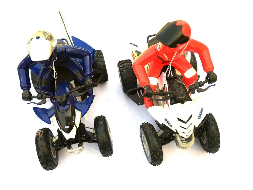 Pair Of  Atv Battery Op Toys