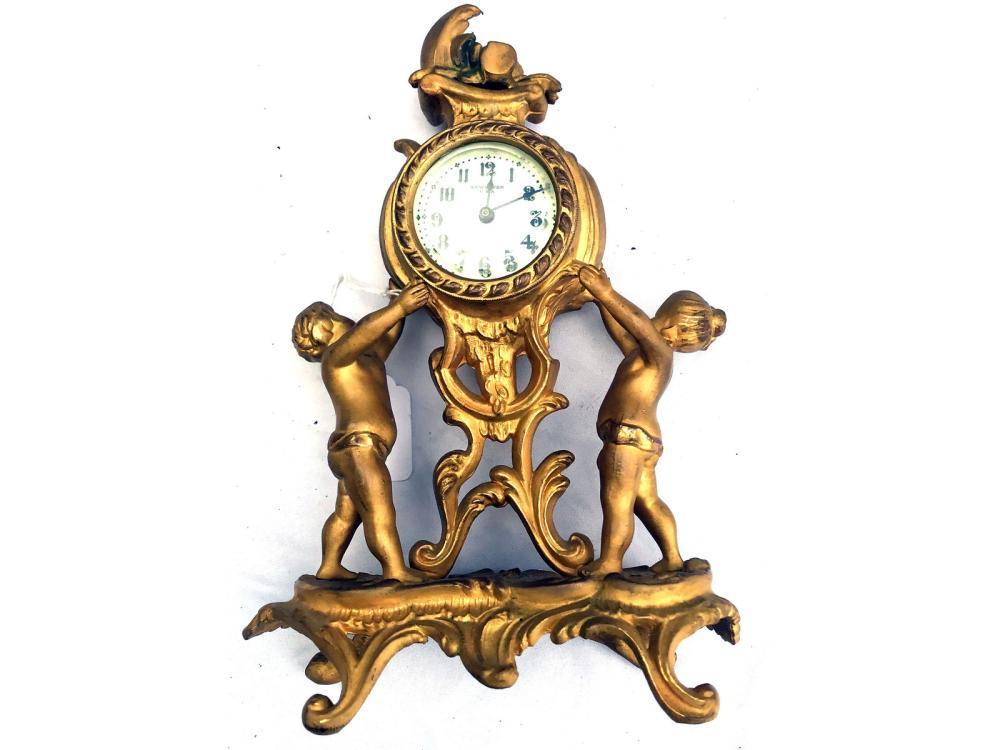 Antique New Haven Shelf Clock