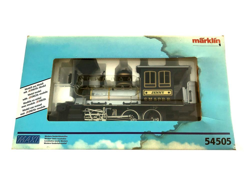 Vintage Marklin Train Engine 54505 New In Box