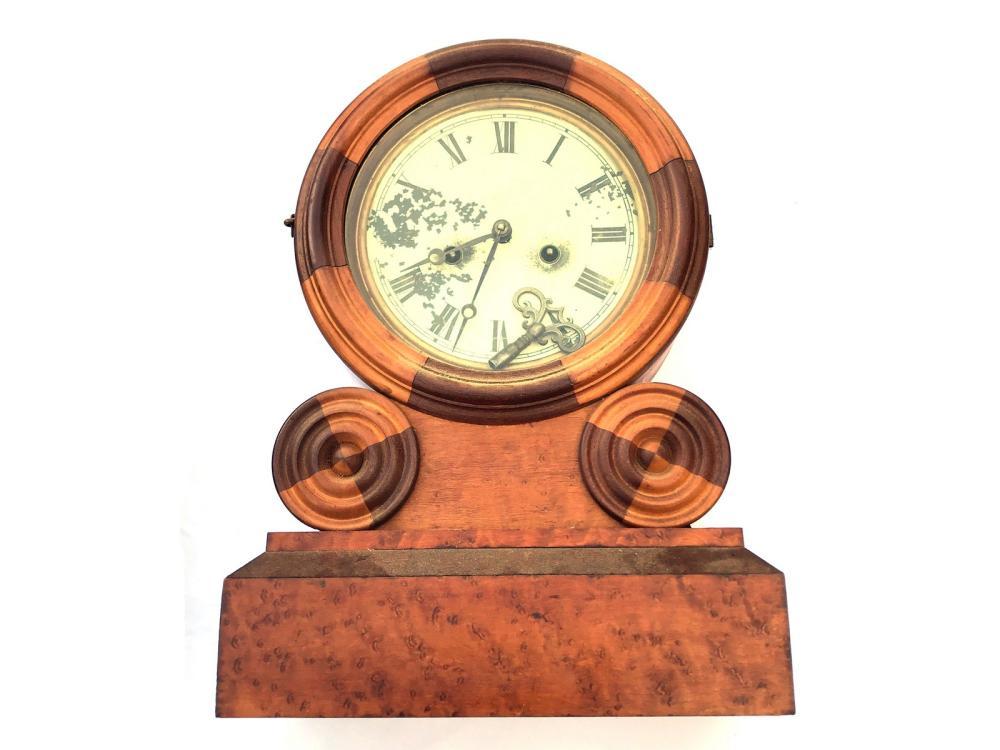 Antique Ingraham Wall Clock Circa 1871