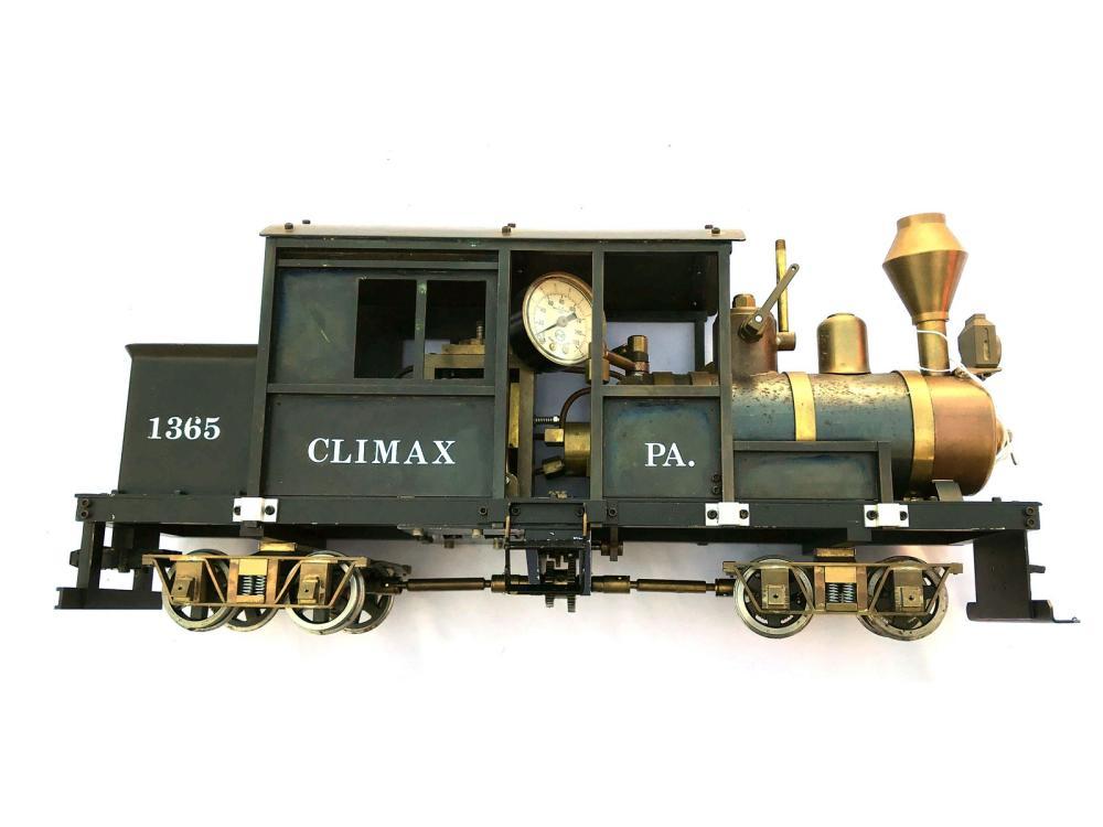 Live Steam Climax #1365 Engine