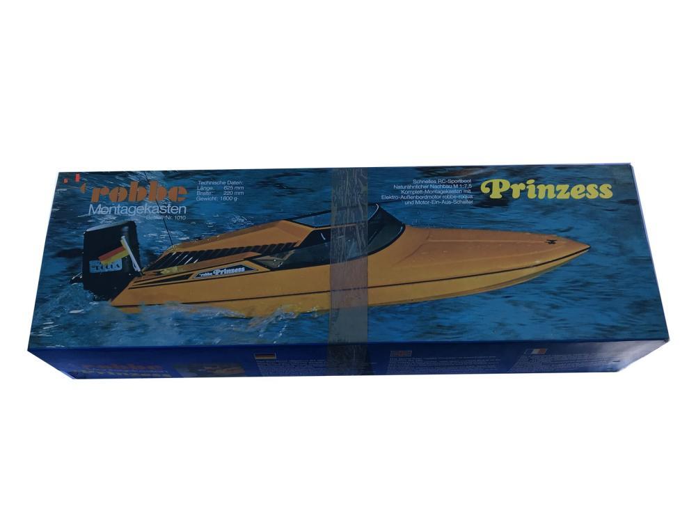 Robbe Boat Model Prinzess In Original Box
