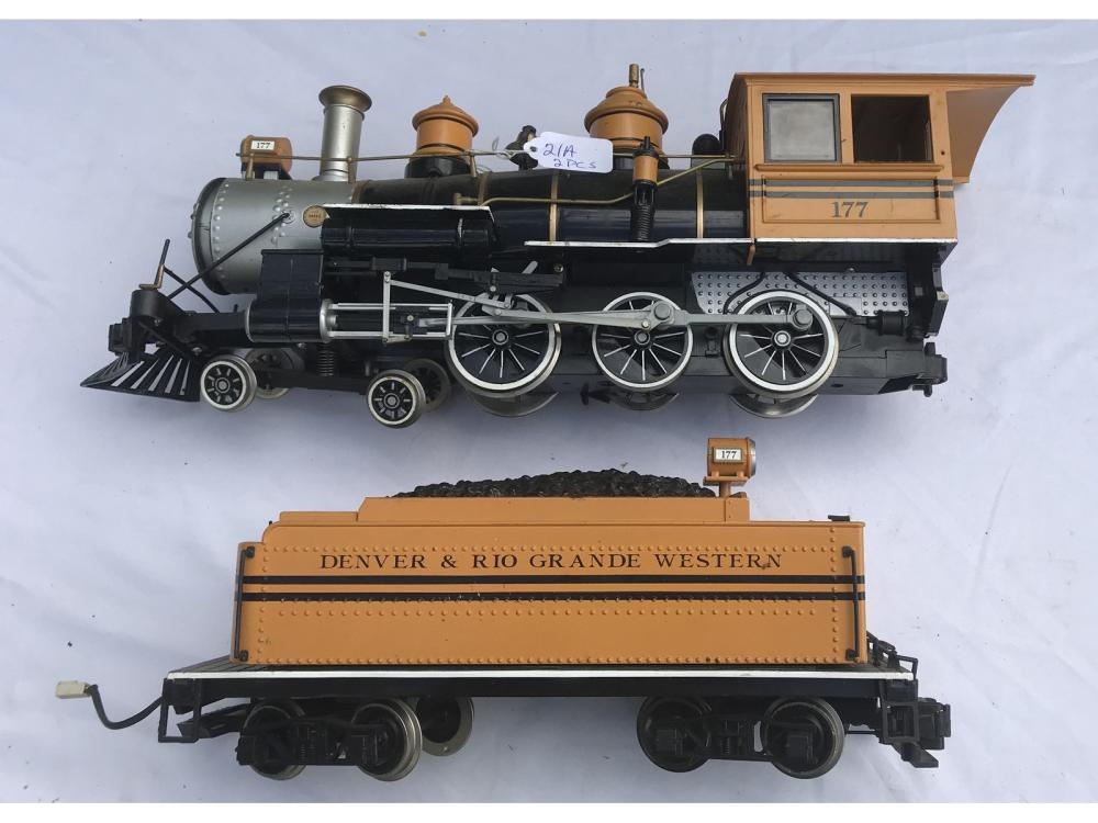 Bachman Engine And Tender