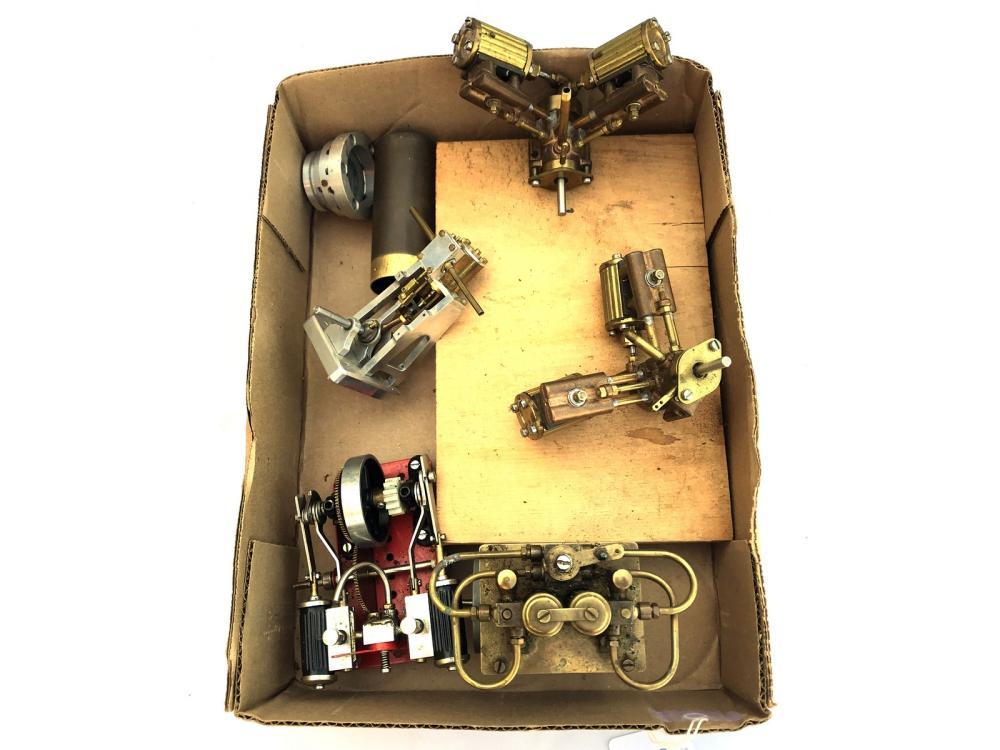 5 Mini Steam Engines