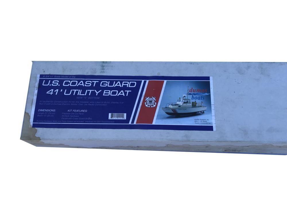 Dumas Us Coast Guard Boat Model