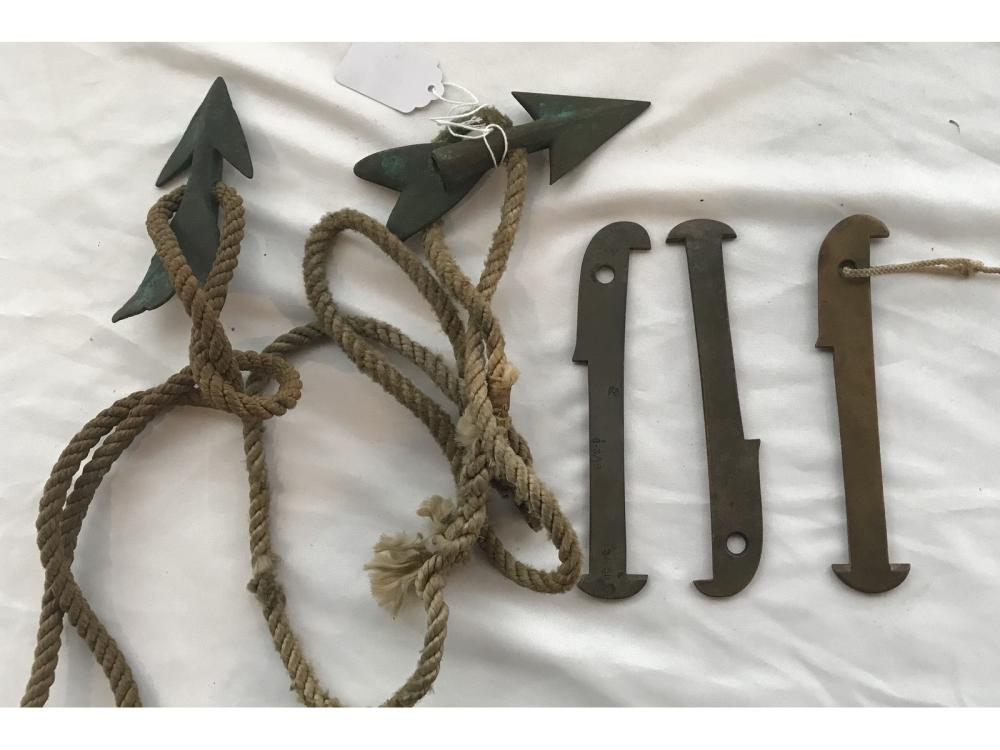 Antique Maine Nautical Items 5 Piece