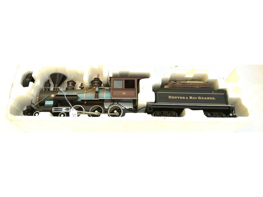 Vintage Bachman Train In Packaging