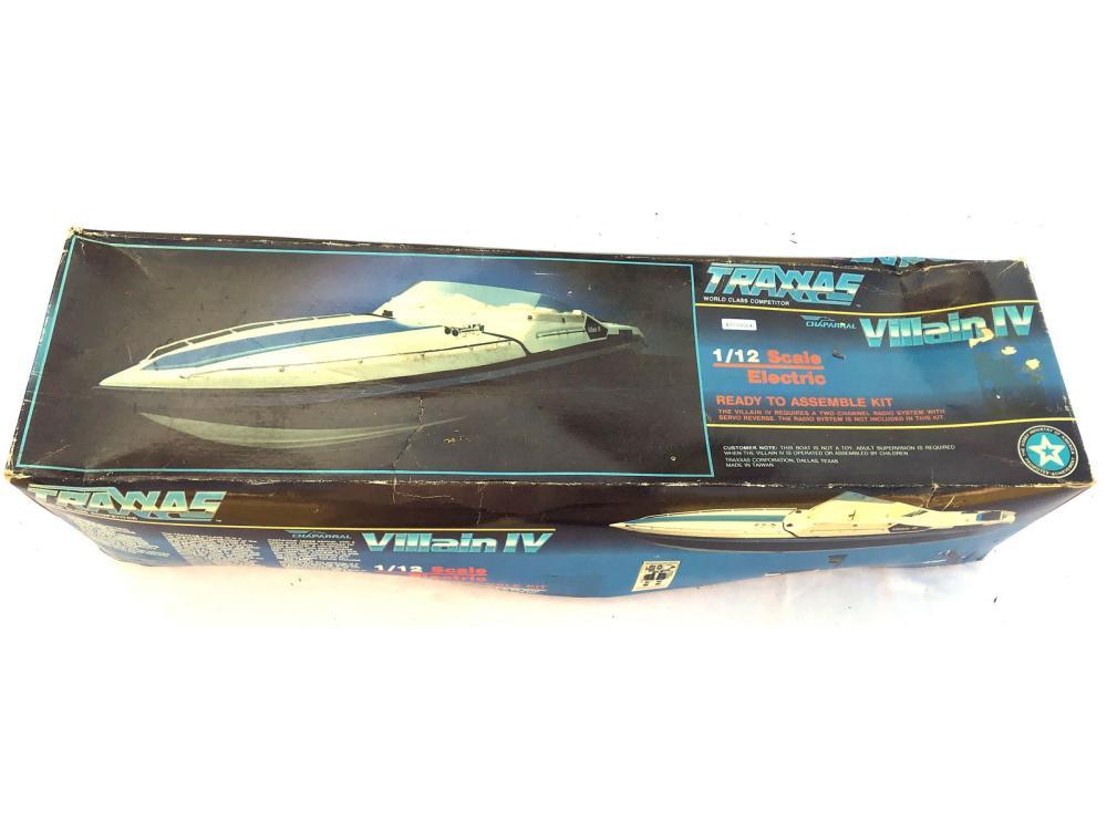 Traxxas Boat Model In Original Box