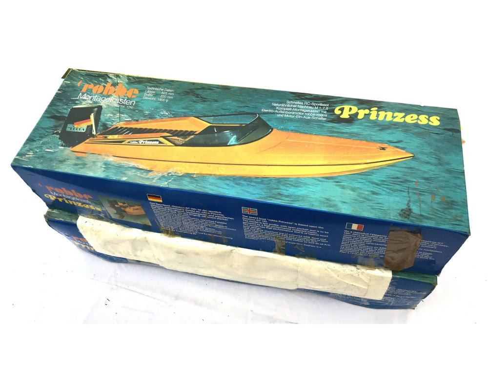 Pair Of Robbe Prinzess Boat Models