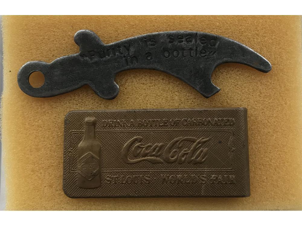 Tiffany Studios Coca Cola Money Clip