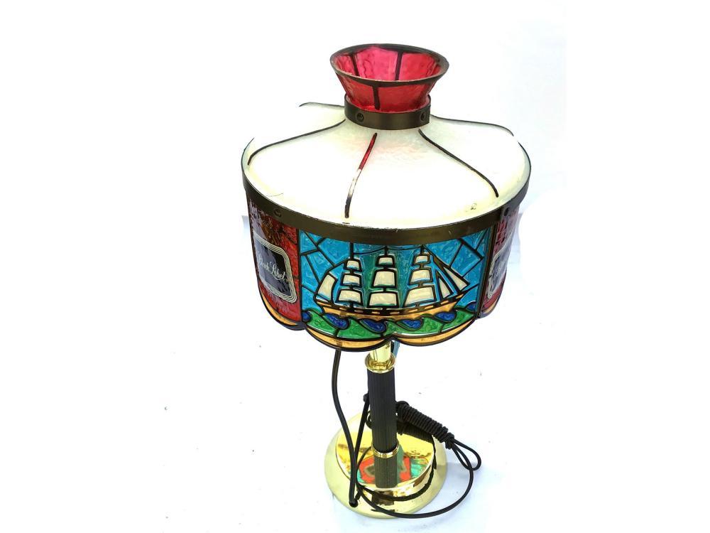 Vintage Black Label Lamp New In Box