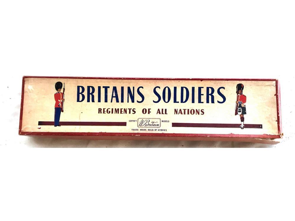Britains Soldiers In Original Box