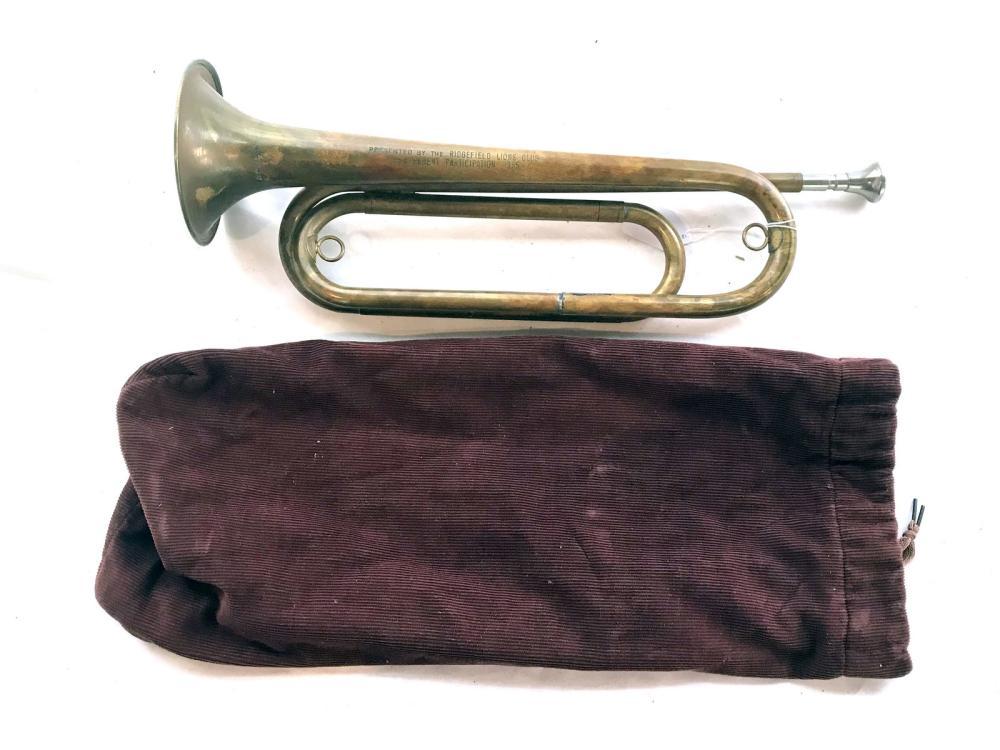 Vintage Boy Scout Brass Trumpet