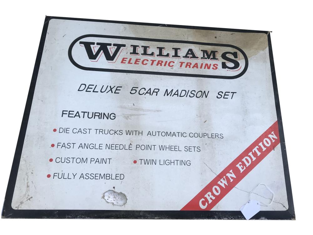 Williams Deluxe 5 Car Madison Set