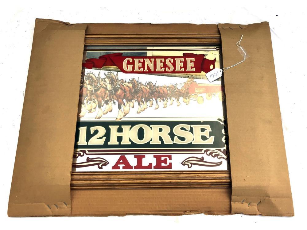 Vintage Genesee Beer Mirror