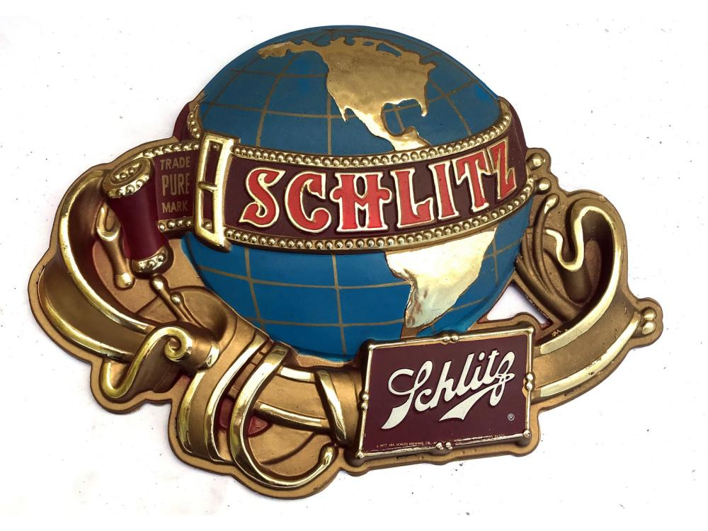 Schlitz And Genesee Beer Signs New Old Stock