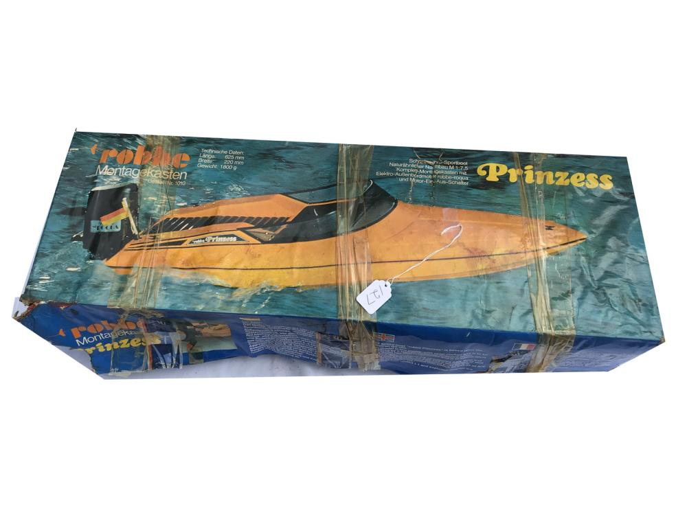 Robbe Prinzess Boat Model In Original Box