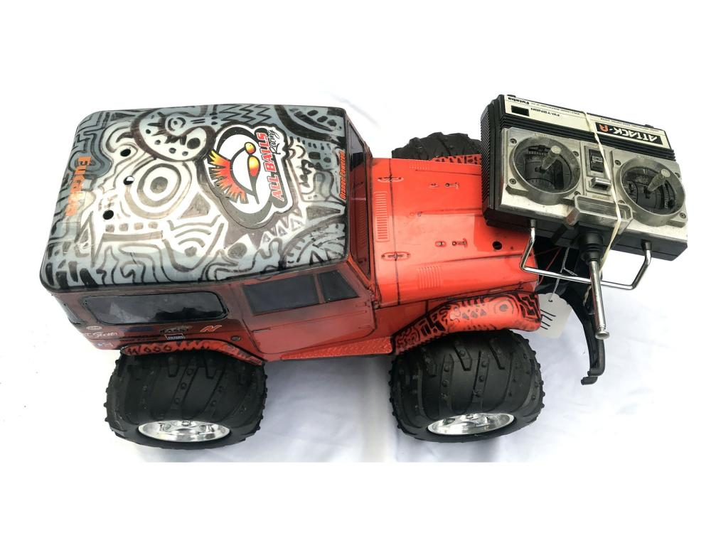 Futaba Toyota Rc Jeep Style Truck
