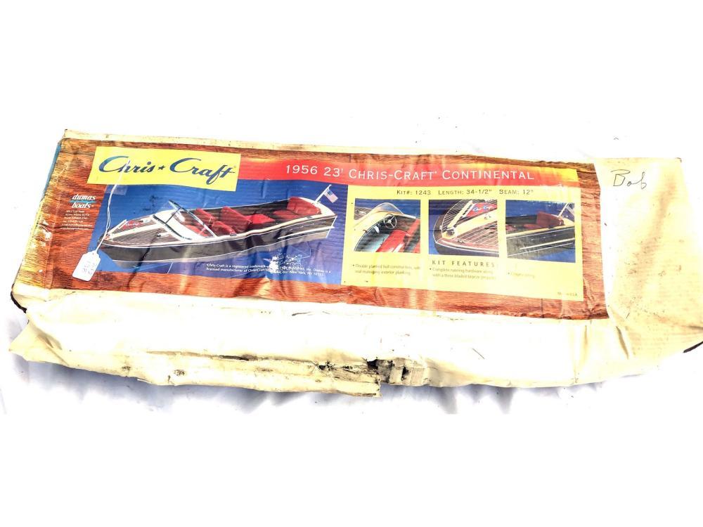 Pair Of 1956 Criscraft Boat Models I