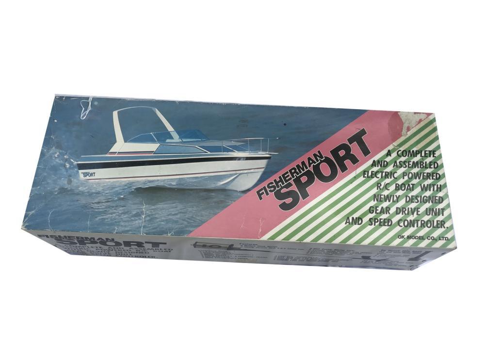 Two Vintage Boat Models In Original Boxes
