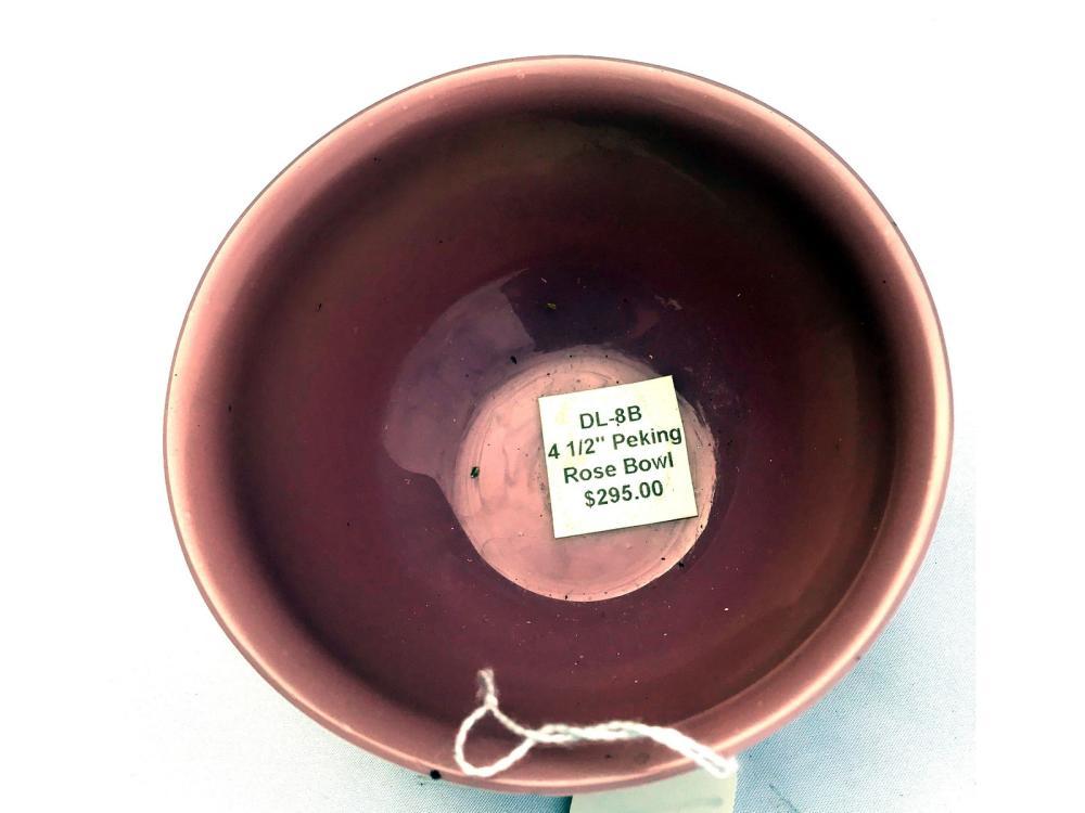 4 1/2 Antique Chinese Peking Rose Bowl