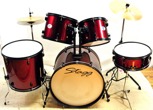 stagg drum set instructions