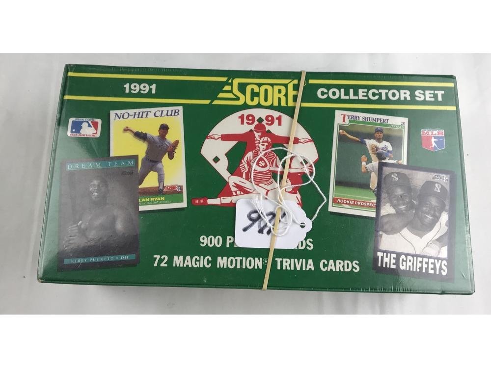 1991 Score Baseball Collectors Factory Set