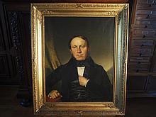 Henry Guillaume SCHLESINGER (1814-1893).    Double portrait.