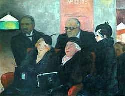 Hermann PAUL (1874-1940). - Chez le notaire.