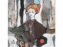 MIGUEL TORNER DE SEMIR (Santa Pau, Girona, 1938) - Woman in a cape