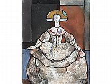 MIGUEL TORNER DE SEMIR (Santa Pau, Girona, 1938) - Menina