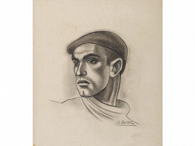 AURELIO ARTETA (Bilbao, 1879-Mexico, 1940) - Arrantzale