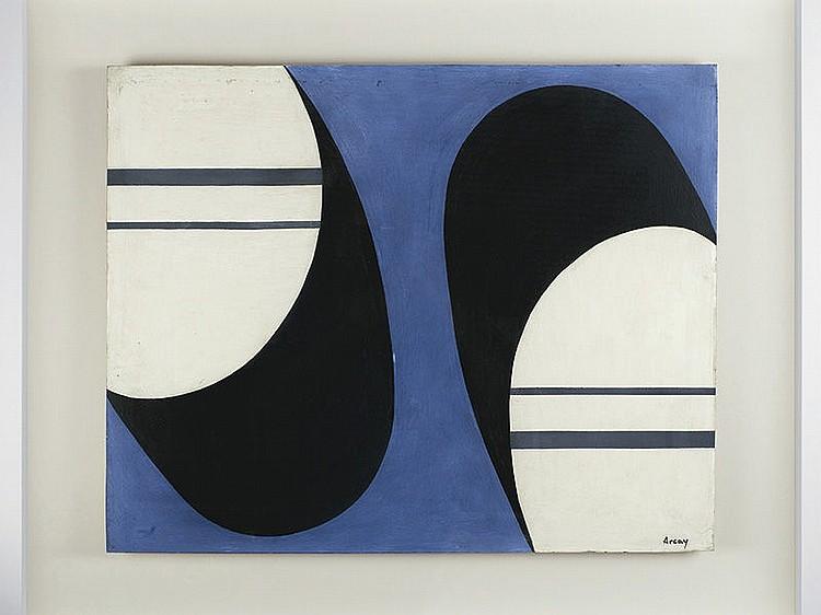 WIFREDO ARCAY OCHANDARENA (La Havana, Cuba,1925-Paris,1997) - Untitled