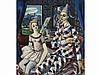 RAFAEL ZABALETA (Quesada, Jaén, 1907-1960) - Harlequin and Dancer, Rafael Zabaleta, Click for value