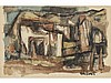 JOSÉ VELA ZANETTI (Milagros, Burgos, 1913-1999) - Village houses, José Vela Zanetti, Click for value