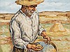 JOSÉ VELA ZANETTI (Milagros, Burgos, 1913-Burgos, 1999) - Peasant, José Vela Zanetti, Click for value