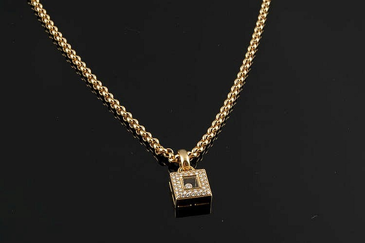 A GOLD AND DIAMOND, BY CHOPARD