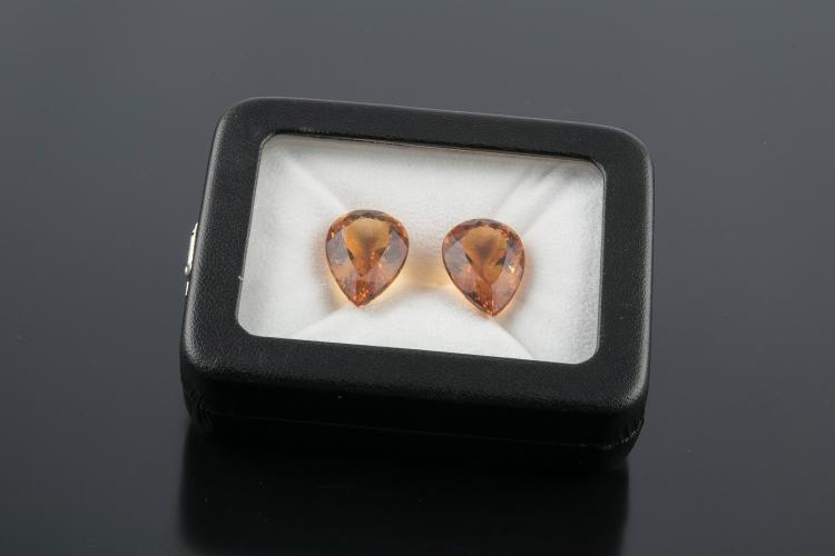 TWO CITRINES