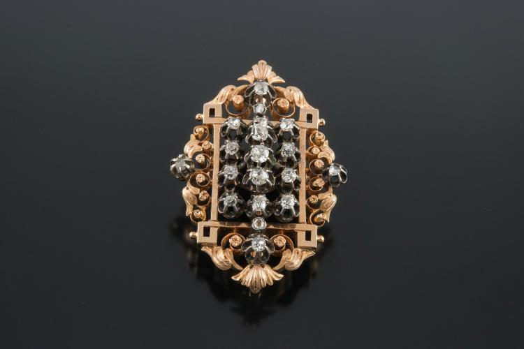 FRENCH ANCIENT BROOCH