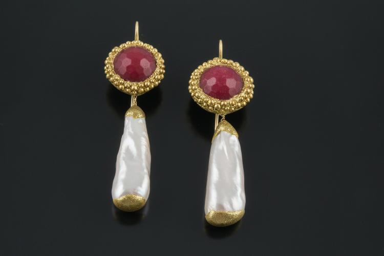 RUBINIA LONG EARRINGS