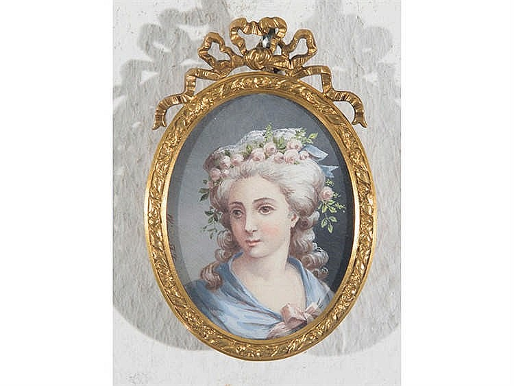 FRENCH SCHOOL, LATE 19TH CENTURY A Female Portrait