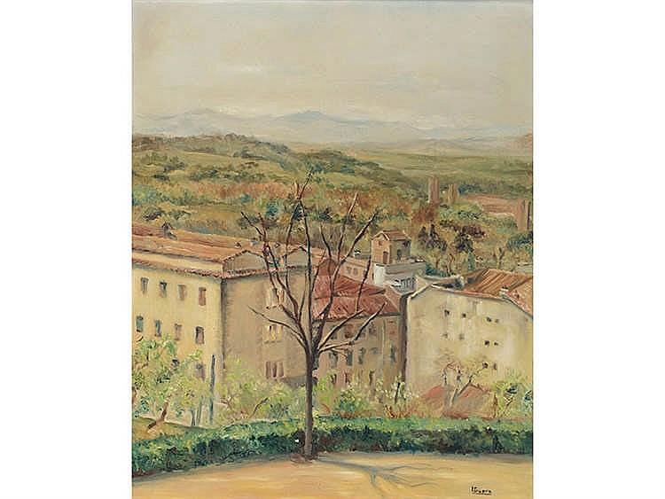 ISABEL GUERRA (Madrid, 1947) Las Vistillas