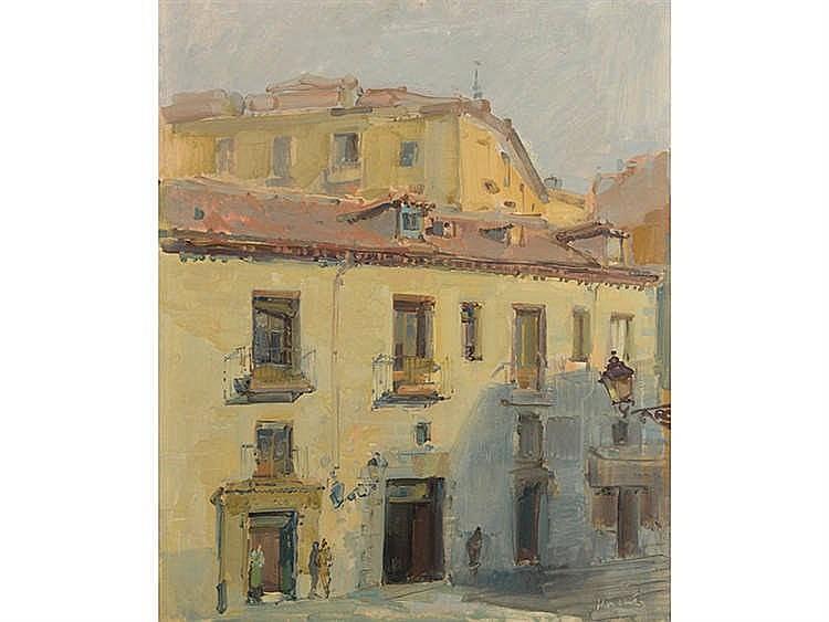 JULIÁN GRAU SANTOS (Canfranc, Huesca, 1937) Calle de Segovia (Madrid)