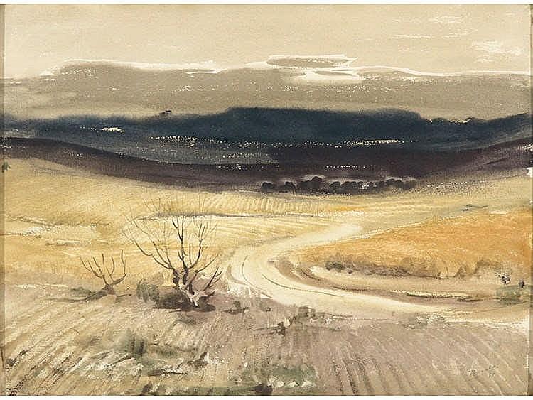 JOSE BEULAS (Santa Coloma de Farnés, Gerona, 1921) Campos de Castilla