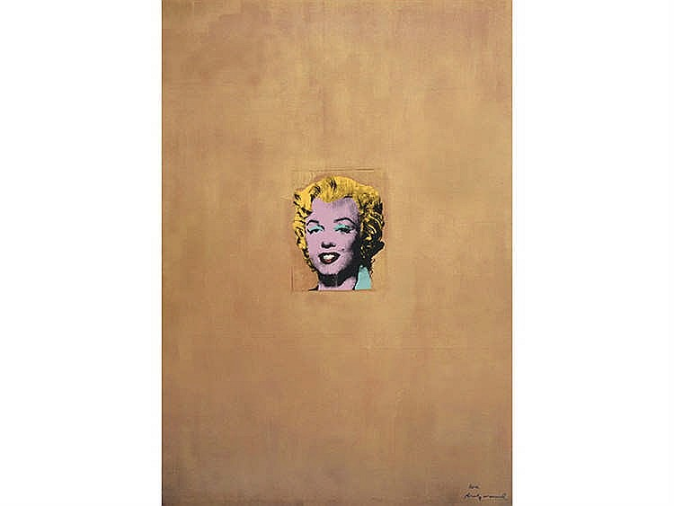 ANDY WARHOL (Pittsburgh, 1928 - New York, 1987) Gold Marilyn Monroe