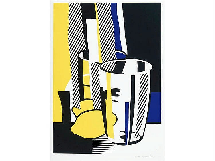 ROY LICHTENSTEIN (New York, 1923-1997) Before the mirror
