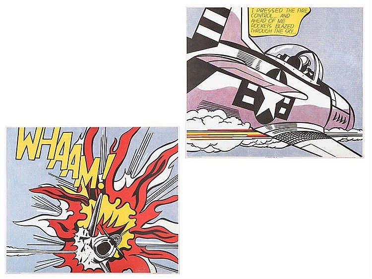 ROY LICHTENSTEIN (New York, 1923-1997) Whaam!
