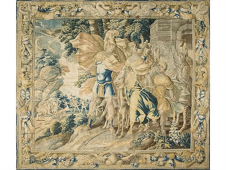 A FRENCH TAPESTRY, 17TH CENTURY