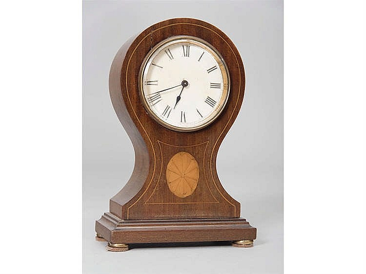 AN ENGLISH TABLE CLOCK, CIRCA 1880