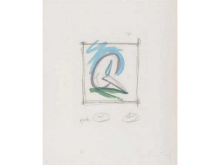 CLAES OLDENBURG (Stockholm, 1929) Sketch